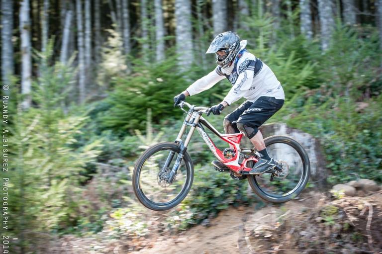 Birthday Boy Todd McCarthy aboard his new bike!