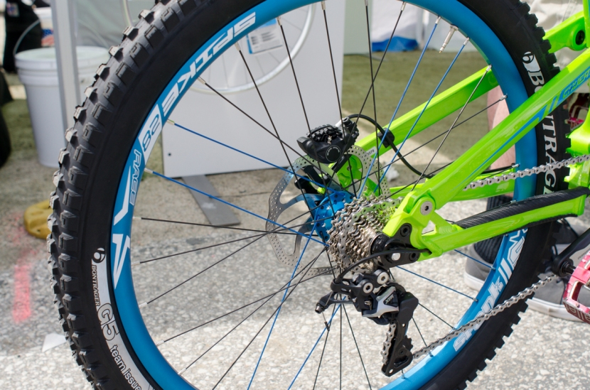 Sick Spank Spike 28 Race wheel.