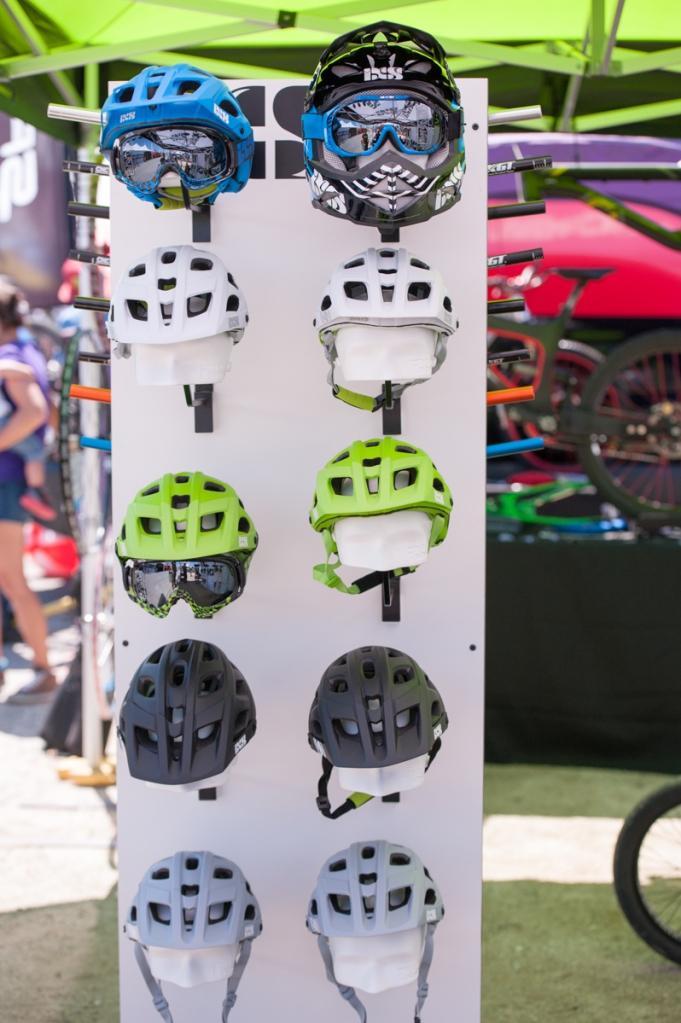 Our iXS helmet display.