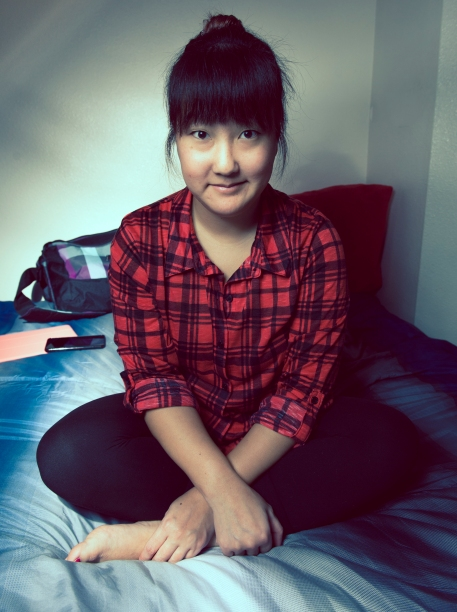 My Adorable Girlfriend In Flannel